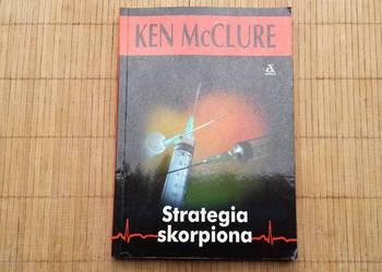 Książka Ken McClure Strategia skorpiona