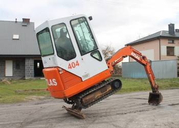 Minikoparka Atlas 404 mini-koparka JCB Kubota CAT BRUTTO !