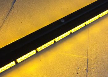 Kogut belka 91cm lampa ostrzegawcza 12-24V pomarańczowy NOWA