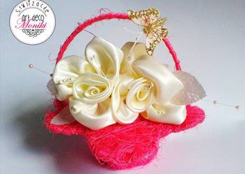 dzień matki koszyczek prezent róże