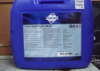 Olej silnikowy FUCHS TITAN TRUCK PLUS 15W40 - 20L