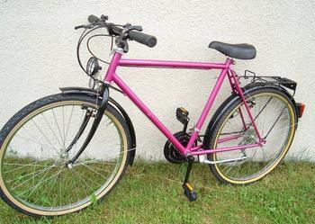 Rower górski   fioletowy   w Super stanie   Shimano z niemiec - sprzedam!
