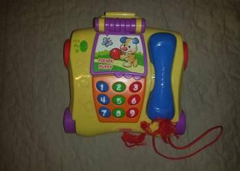 Interaktywny polsko- angielski telefon Fisher Price