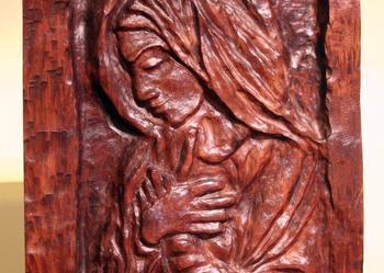 PŁASKORZEŹBA MARYJA