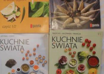Książeczki kulinarne z gazet - 4 sztuki