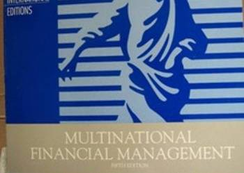 Multinational financial management - po angielsku
