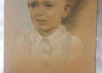 Antyk portret chlopca 1944