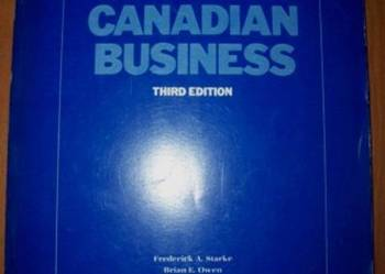 Instruction to Canadian Business - po angielsku