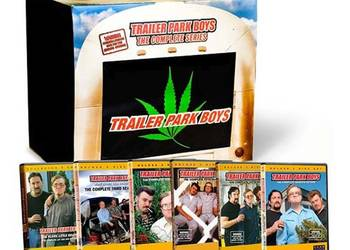 Chłopaki z baraków limitowana edycja Weed Bag komplet Kanada