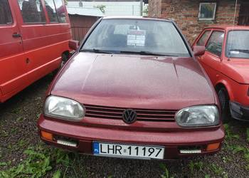 Volkswagen Golf 1.9 zwykły diesel sprawny technicznie