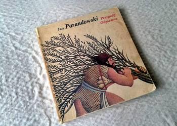 Książka Przygody Odyseusza - Jana Parandowski 1982r.