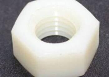 Nakrętka sześciokątna poliamidowa M 12, poliamid, nakrętki