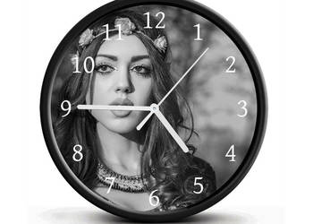 Zegar ścienny z własnym zdjęciem (cichy) idealny na prezent