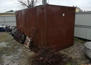 Buda stalowa garaż blaszany kontyner kontener