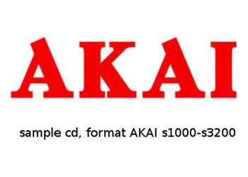 Sample AKAI seria S-1000/3200