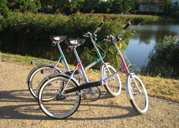 2x RETRO rower PRL Romet Wigry 3 LUX składak SUPER