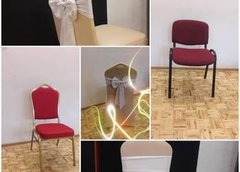 Krzesła stoły pokrowce wynajme