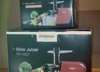 Slow Juicer Ph 1007 Cena : wyciskarka philipiak - Sprzedajemy.pl