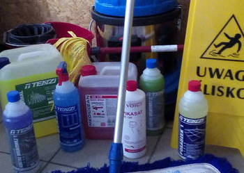 Sprzątanie domów willi mieszkań apartamentów TANIO FACHOWO