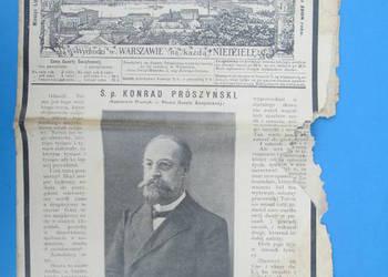 30. Gazeta Świąteczna Rok wydania 1908 - Bezpłatna wysyłka.