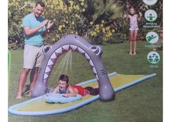 Ślizgawka wodna zjeżdżalnia Rekin 5m ślizg
