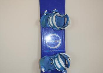 Oferta: Deska snowboardowa z wiązaniami