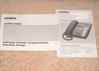 Sprzedam instrukcę do Simens - centrala telefoniczna