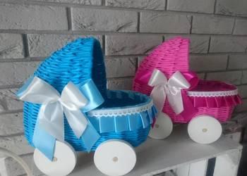 Wózki, oczepiny, chrzciny, narodziny, prezent, koszyk