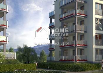 mieszkanie 45.62m2 2 pokoje Bielsko-Biała Kamienica