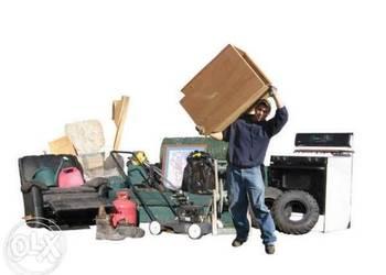sprzatanie oczyszczanie;piwnic, garazy, strychów, likwidacja
