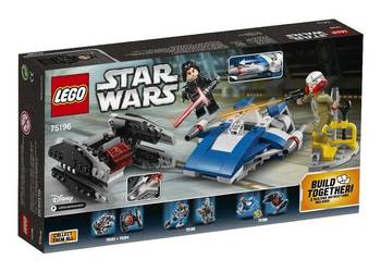 Lego 75196 STAR WARS A-Wing Kontra TIE Silencer