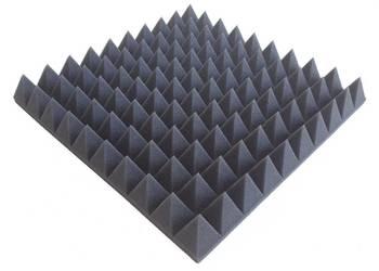 wyciszenia wygłuszenia piramidki maty akustyczne 50x50x7cm