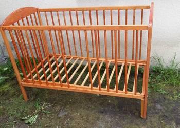 Łóżeczko dziecięce drewniane Drewex 067