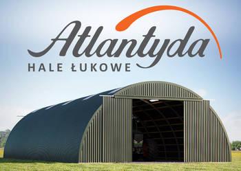 Hala Łukowa stalowa 9x15m wiata hangar garaż NOWA! łukowe