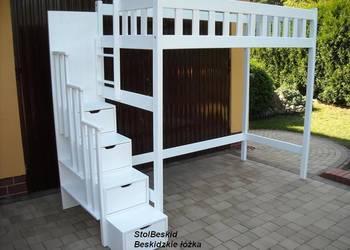 łóżko lozka piętrowe ANTRESOLA ZE SCHODAMI łóżka lozko nowe na sprzedaż  Bielsko-Biała