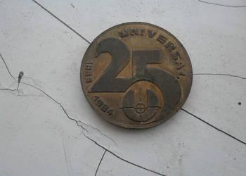 "Medal ""25 lat Universal/XL lat PRL"""