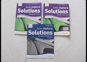 New Matura Solutions OXFORD Student's book