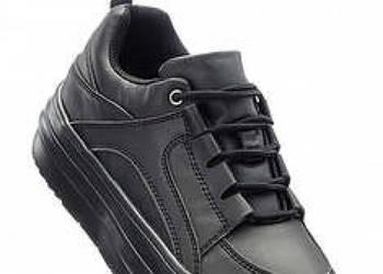 19435a45 Zamszowe buty H&M na obcasie, długość za kostkę, jak nowe Sanok ...