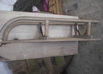 drewniane sanki