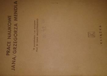 prace naukowe Jana/Grzegorza Mendla