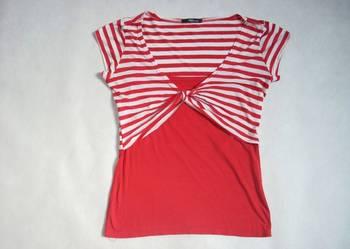 Jane Norman bluzeczka 2w1 paseczki 38 40