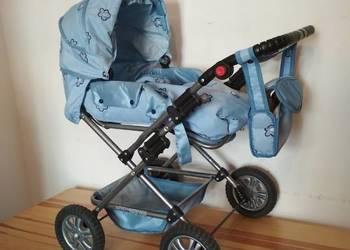 dziecięcy duży wózek dla lalek