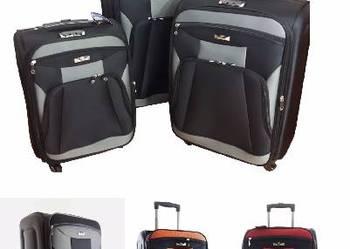 3szt Zestaw rodzinny walizki WALIZKA NA 4 KÓŁKACH
