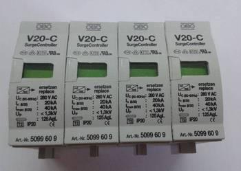 Ogranicznik wkład OBO V20C - 4 szt