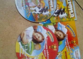 2 płyty CD z grami edukacyjnymi dla dzieci.