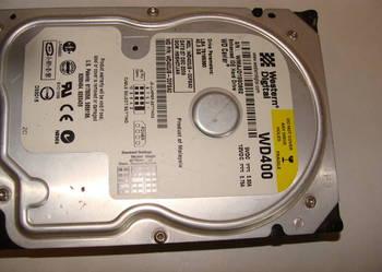"""Dysk twardy Western Digital 3,5"""" 40 GB IDE/ATA sprawny 100%"""