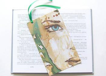 zakładka do książki z dziewczyną, zakładka do książki kobiet