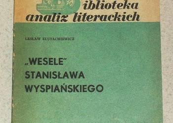 """Książka Analiza literacka """"Wesela"""" Stanisława Wyspiańskiego"""
