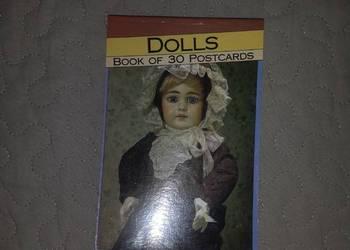 30 pocztówek z lalkami 1992 unikat nowe