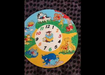 puzzle drewniane ze zwierzakami